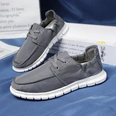 Summer Shoe Mesh Canvas Men's Casual Shoes Breathable Loafers Slip on Men Flats Hot Sale Soft Driving Shoes Man Moccasins | Touchy Style Girls Loafers, Loafers Men, Mens Fashion Casual Shoes, Men Casual, Driving Shoes Men, Moccasins Mens, Womens Summer Shoes, Snow Boots Women, Mesh