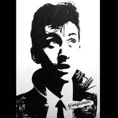 Alex Turner drawing :D