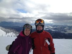 Great view from the front side at Whitefish Mountain Resort