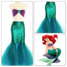 MERMAID PRINCESS- Adult Mermaid Tail/ Mermaid Costume by MTBGBOUTIQUE on Etsy