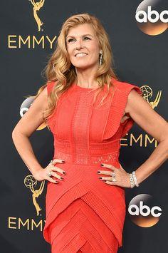 Connie Britton at the Emmys #beauty #redcarpet #Emmys #Emmy #Emmy2016 #Nashville