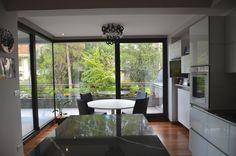 Un tuffo sul verde-2018-La Cucina studio Lara Comino Arch, Windows, Studio, Bathroom, Washroom, Bow, Study, Bathrooms, Arches