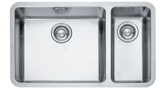 Franke - A One And A Small (Right Hand Side) Bowl Undermounted Sink (Stainless Steel) * - DIY Kitchens