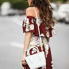 Beach waves and ruffled dresses on repeat!