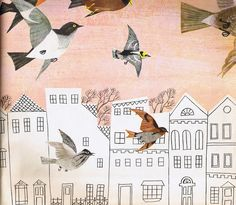 I absolutely adore the work of illustrators Alice & Martin Provensen. How divine their illustrations would be wallpapering a powder room or little girl's bathroom!