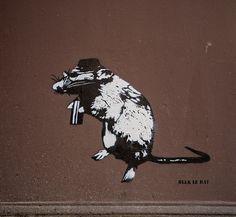 Blek Le Rat for Urbannationberlin in Berlin, 2017 Blek Le Rat, Rats, Berlin, Moose Art, Movies, Movie Posters, Animals, Animales, Films
