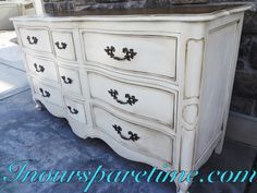 French Provincial dresser.