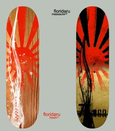 aabed8494c4 Striking design on both boards. The wood grain creates a different feel to  the board. Skateboard ...