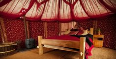 Enjoy camping in style with our friends @Plush Tents #Glamping #Sussex