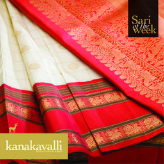 The combination of white or venpattu and red with a touch of green denotes a…