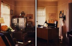 Old school p.i. office. nest magazine private detective