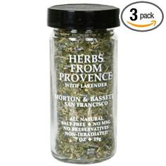 Morton & Basset Herb From Provence And Lavender, 0.7-Ounce (Pack of 3).