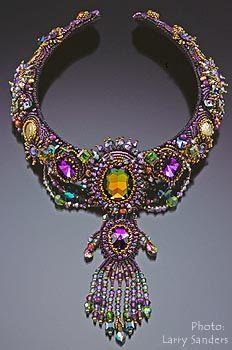 Sherry Serafini Neckpiece - I love the colors of this!