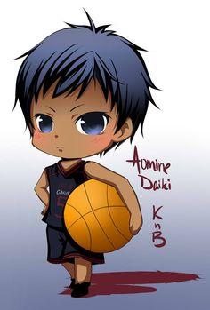 A chibi of Aomine Daiki from Kuroko no Basuke. He looks super cutesy lol AT: Aomine Daiki (KnB) Kawaii Chibi, Cute Chibi, Anime Kawaii, Anime Chibi, Chibi Characters, Cute Characters, Cute Anime Character, Kuroko No Basket, Aomine Kuroko