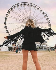 Feelin fringey 🎡 PS: is giving you guys off with code 🙌🏼 Suede Jacket, Tall Boots, Take That, Guys, Female, Womens Fashion, Model, How To Wear, Jackets