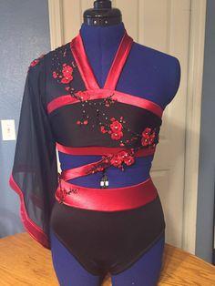 Custom Costume Asian Theme by SewingItAllForYou on Etsy