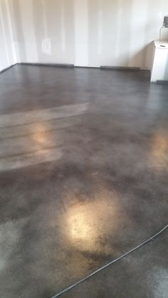 Stained Concrete Floors Hardwood Marble Polishing Bat Salons