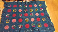 Bobble Circle Blanket