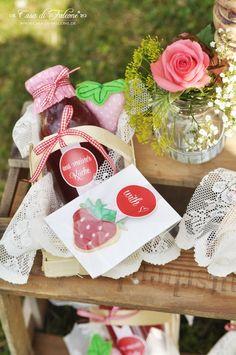 Erdbeerkekse Rezept I strawberry cookies german recipe I strawberry sweet table I Casa di Falcone