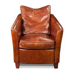 Baldwin Club Chair, Brown