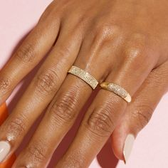 Diamond Stacking Rings, Diamond Bands, Gold Rings, Diamond Jewelry, Most Expensive Jewelry, Best Friend Jewelry, Things Under A Microscope, Cigar Band, Looks Chic