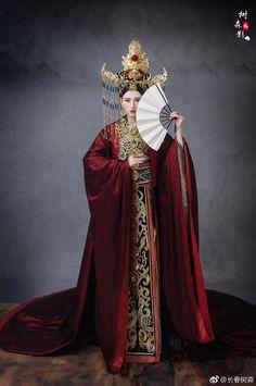 微博 Traditional Fashion, Traditional Outfits, Asian Style, Chinese Style, Chinese Art, Fashion Photo, Fashion Beauty, Asian Photography, International Clothing