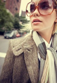 street style* ray ban* morning coffee