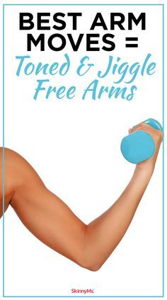 Workout Routines For The Gym : These are the Best Arm Moves to get Toned & Jiggle Free Arms! - All Fitness Good Arm Workouts, At Home Workouts, Arm Day Workout, Biceps Workout, Slimmer Arms Workout, Tone Arms Workout, Circuit Workouts, Workout Body, Biceps And Triceps