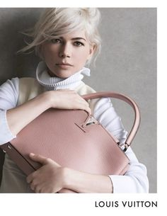 Louis Vuitton Michelle Williams with Capucines Bag for Fall 2014 - Ad Campaign
