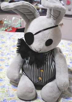 Black Butler- Funtom Company Bitter Bunny Plushie/Stuff Animal or Stuff Toy