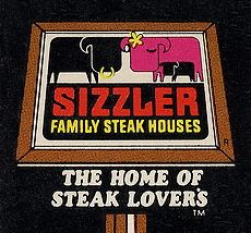 The old SIZZLER logo - used to go there with my BFF after shopping at Mervyn's My Childhood Memories, Sweet Memories, 90s Childhood, Ed Vedder, Back In My Day, Vintage Restaurant, Old Signs, I Remember When, My Memory