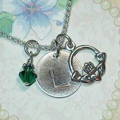 Unique Claddagh Necklace!