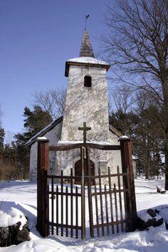 Kassari chapel, Hiiumaa island, Estonia Baltic Region, Christian World, Mosques, Place Of Worship, Baltic Sea, Lithuania, Temples, Gates, Spiritual