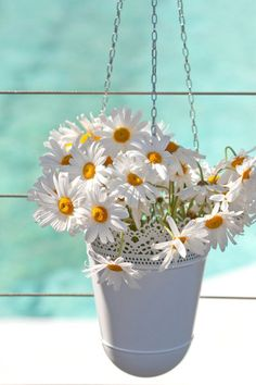 i do like white daisies.  and it's a bit reminiscent of my parent's wedding.  mmmh...we should incorporate some daisies!