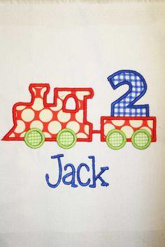 Birthday Shirt train parti, birthday parti, birthday shirts, train shirt, train birthday, train applique