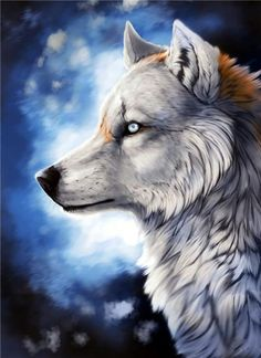 5d Diamond Painting Mosaic diy Wolves Patterns