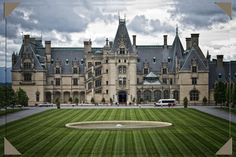 Biltmore House. One of the most amazing places I have ever been. I would love to go back and see it again some day.