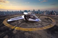 The electric aircraft under development by ESA BIC Bavaria start-up Lilium needs only an open flat area of about 15x15 m for vertical takeoff and landing. The environmentally friendly aircraft is planned to be available from 2018.