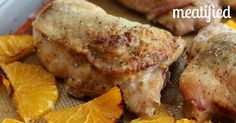 Deliciously tender chicken roasted with fresh oranges. If you've never tried a roasted orange, you should: they caramelize gently but retain their juiciness