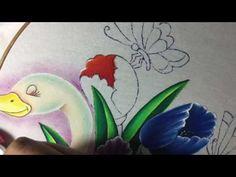 Pintura en tela en este vídeo te enseño a pintar el tulipán.. no olvides suscribirte a mi canal