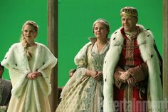 Emma Swan and her parents, Snow White and Prince Charming, in the mid season finale of Once Upon a Time.