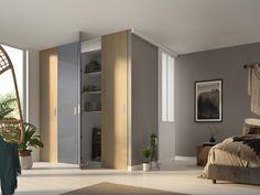Des portes battantes qui s'intègre à ma décorations Decoration, Tall Cabinet Storage, Divider, Blond, Room, Furniture, Home Decor, Swinging Doors, Closet Solutions