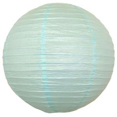 "Just Artifacts paper lanterns are perfect for birthday parties or baby showers! 22"" Baby Blue Paper Lantern  #BabyBlue"