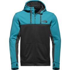 The North Face Men's Surgent Block Full Zip Hoodie, Size: Medium, Gray