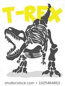 Dinosaur Fossils, Cute Dinosaur, Diy Vinyl Projects, T Shart, Wood Pallet Art, New T Shirt Design, T Rex, Art For Kids, Screen Printing