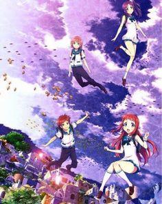 Chisaki, Kaname, Hikari, and Manaka        ~Nagi no Asukara