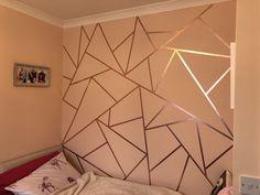 Bedroom Wall Designs, Wall Decor Design, Accent Wall Bedroom, Room Ideas Bedroom, Room Decor, Diy Wall Decor For Bedroom Easy, Room Wall Painting, Room Art, Wall Painting Design