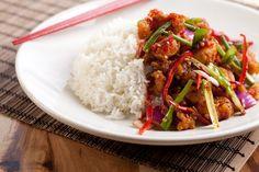 Cherry Bomb Shrimp from Big Bowl Restaurants