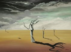 Acryl/Canvas 40 cm x 50 cm x 1,5 cm Surreal World 240,- Euro