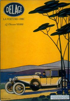 Delage   La voiture chic   The best cars of the world